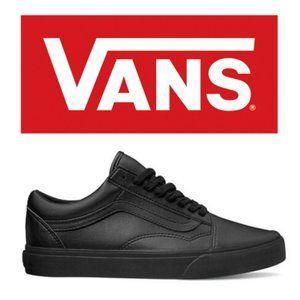 Vans Leather Old Skool - Size 6
